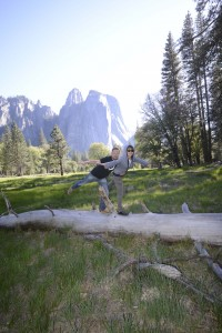 Balancing in Yosemite Valley