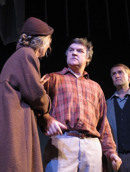 A View From the Bridge:  Bea, Eddie, and Rodolpho