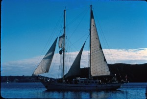 Training schooner