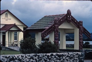 Traditional Maori community house