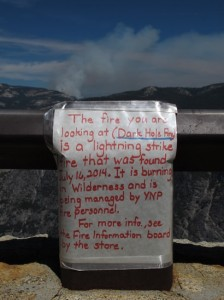Yosemite Lightning Fire Discription