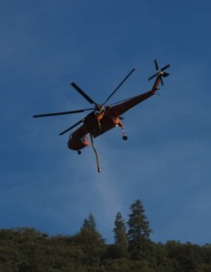 ElPortalFire Helicopter Water Drop