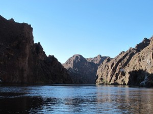 Down River from Hoover Dam