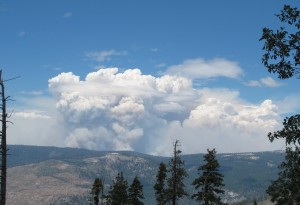 Rim Fire Plume from Glacier Point