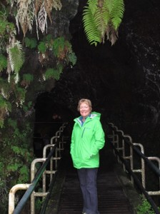We checked out Thurston Lava Tube.