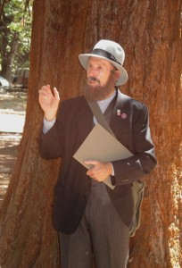 Galen Clark played by Pete Devine-Yosemite Valley